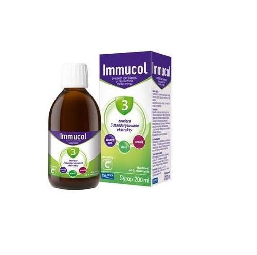Immucol 3 syrop 200 ml | Apteka internetowa, antyperspirant, avent, bioderma, bioliq, canpol, cera trądzikowa preparaty, dermokosmetyki, geriavit, grzybica leki bez recepty, himalaya, kreon, leki bez recepty, leki na grypę, leki na przeziębienie, leki na uspokojenie, mascara med., maxigra go, maxon, mensil, mugga, mustela, odchudzanie leki, odporność, pirolam, tabletki na ból gardła, test ciążowy, tran mollers, vichy, witamina d, wszy preparaty, zapalenie stawów, zestawy kosmetyków, ziaja