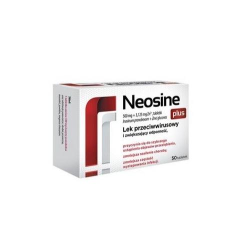 Neosine Plus tabl. 0,5g+3,125mgZn2+ 50tabl | Apteka internetowa, antyperspirant, avent, bioderma, bioliq, canpol, cera trądzikowa preparaty, dermokosmetyki, geriavit, grzybica leki bez recepty, himalaya, kreon, leki bez recepty, leki na grypę, leki na przeziębienie, leki na uspokojenie, mascara med., maxigra go, maxon, mensil, mugga, mustela, odchudzanie leki, odporność, pirolam, tabletki na ból gardła, test ciążowy, tran mollers, vichy, witamina d, wszy preparaty, zapalenie stawów, zestawy kosmetyków, ziaja
