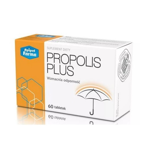 Propolis Plus tabl. 60 tabl. | Apteka internetowa, antyperspirant, avent, bioderma, bioliq, canpol, cera trądzikowa preparaty, dermokosmetyki, geriavit, grzybica leki bez recepty, himalaya, kreon, leki bez recepty, leki na grypę, leki na przeziębienie, leki na uspokojenie, mascara med., maxigra go, maxon, mensil, mugga, mustela, odchudzanie leki, odporność, pirolam, tabletki na ból gardła, test ciążowy, tran mollers, vichy, witamina d, wszy preparaty, zapalenie stawów, zestawy kosmetyków, ziaja
