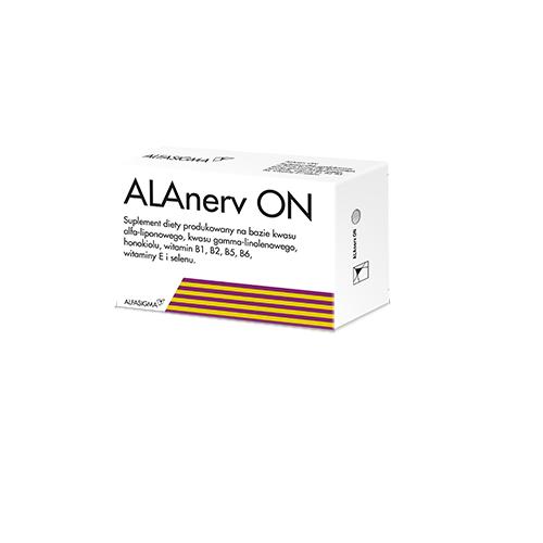 ALAnerv ON kaps.miękkie 30 kaps. | Apteka internetowa, antyperspirant, avent, bioderma, bioliq, canpol, cera trądzikowa preparaty, dermokosmetyki, geriavit, grzybica leki bez recepty, himalaya, kreon, leki bez recepty, leki na grypę, leki na przeziębienie, leki na uspokojenie, mascara med., maxigra go, maxon, mensil, mugga, mustela, odchudzanie leki, odporność, pirolam, tabletki na ból gardła, test ciążowy, tran mollers, vichy, witamina d, wszy preparaty, zapalenie stawów, zestawy kosmetyków, ziaja