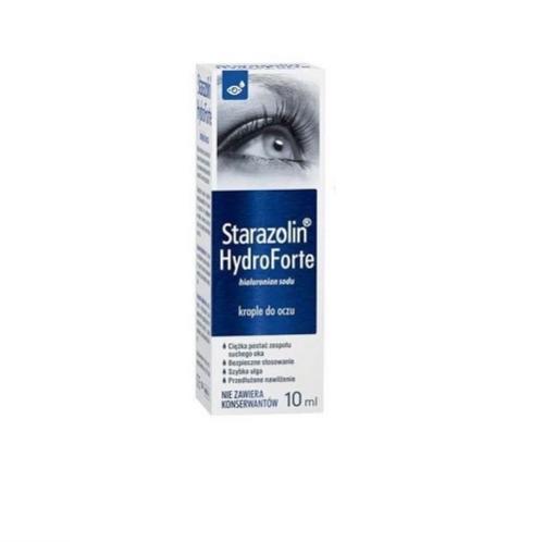 Starazolin HydroForte krop.do oczu 10 ml | Apteka internetowa, antyperspirant, avent, bioderma, bioliq, canpol, cera trądzikowa preparaty, dermokosmetyki, geriavit, grzybica leki bez recepty, himalaya, kreon, leki bez recepty, leki na grypę, leki na przeziębienie, leki na uspokojenie, mascara med., maxigra go, maxon, mensil, mugga, mustela, odchudzanie leki, odporność, pirolam, tabletki na ból gardła, test ciążowy, tran mollers, vichy, witamina d, wszy preparaty, zapalenie stawów, zestawy kosmetyków, ziaja