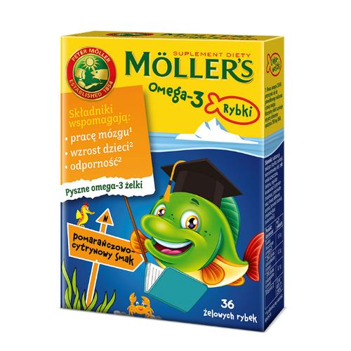 Mollers Omega-3 Rybki pom.-cytr.żelki 36sz | Apteka internetowa, antyperspirant, avent, bioderma, bioliq, canpol, cera trądzikowa preparaty, dermokosmetyki, geriavit, grzybica leki bez recepty, himalaya, kreon, leki bez recepty, leki na grypę, leki na przeziębienie, leki na uspokojenie, mascara med., maxigra go, maxon, mensil, mugga, mustela, odchudzanie leki, odporność, pirolam, tabletki na ból gardła, test ciążowy, tran mollers, vichy, witamina d, wszy preparaty, zapalenie stawów, zestawy kosmetyków, ziaja