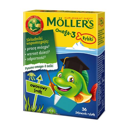 Mollers Omega-3 Rybki Owocowe żelki 36 szt | Apteka internetowa, antyperspirant, avent, bioderma, bioliq, canpol, cera trądzikowa preparaty, dermokosmetyki, geriavit, grzybica leki bez recepty, himalaya, kreon, leki bez recepty, leki na grypę, leki na przeziębienie, leki na uspokojenie, mascara med., maxigra go, maxon, mensil, mugga, mustela, odchudzanie leki, odporność, pirolam, tabletki na ból gardła, test ciążowy, tran mollers, vichy, witamina d, wszy preparaty, zapalenie stawów, zestawy kosmetyków, ziaja