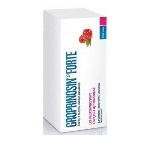 Groprinosin Forte syrop 0,5g/5ml 150 ml | Apteka internetowa, antyperspirant, avent, bioderma, bioliq, canpol, cera trądzikowa preparaty, dermokosmetyki, geriavit, grzybica leki bez recepty, himalaya, kreon, leki bez recepty, leki na grypę, leki na przeziębienie, leki na uspokojenie, mascara med., maxigra go, maxon, mensil, mugga, mustela, odchudzanie leki, odporność, pirolam, tabletki na ból gardła, test ciążowy, tran mollers, vichy, witamina d, wszy preparaty, zapalenie stawów, zestawy kosmetyków, ziaja