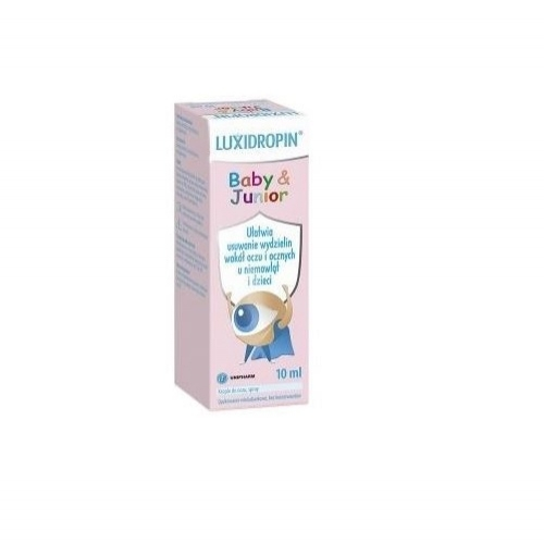 Luxidropin Baby & Junior krop.dooczu 10ml | Apteka internetowa, antyperspirant, avent, bioderma, bioliq, canpol, cera trądzikowa preparaty, dermokosmetyki, geriavit, grzybica leki bez recepty, himalaya, kreon, leki bez recepty, leki na grypę, leki na przeziębienie, leki na uspokojenie, mascara med., maxigra go, maxon, mensil, mugga, mustela, odchudzanie leki, odporność, pirolam, tabletki na ból gardła, test ciążowy, tran mollers, vichy, witamina d, wszy preparaty, zapalenie stawów, zestawy kosmetyków, ziaja