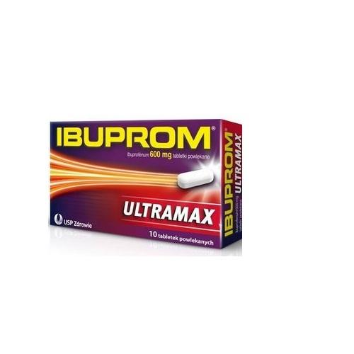Ibuprom Ultramax tabl.powl. 0,6 g 10 tabl. | Apteka internetowa, antyperspirant, avent, bioderma, bioliq, canpol, cera trądzikowa preparaty, dermokosmetyki, geriavit, grzybica leki bez recepty, himalaya, kreon, leki bez recepty, leki na grypę, leki na przeziębienie, leki na uspokojenie, mascara med., maxigra go, maxon, mensil, mugga, mustela, odchudzanie leki, odporność, pirolam, tabletki na ból gardła, test ciążowy, tran mollers, vichy, witamina d, wszy preparaty, zapalenie stawów, zestawy kosmetyków, ziaja