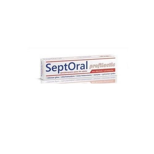 SeptOral Profilactic Pasta d/zęb. 100ml | Apteka internetowa, antyperspirant, avent, bioderma, bioliq, canpol, cera trądzikowa preparaty, dermokosmetyki, geriavit, grzybica leki bez recepty, himalaya, kreon, leki bez recepty, leki na grypę, leki na przeziębienie, leki na uspokojenie, mascara med., maxigra go, maxon, mensil, mugga, mustela, odchudzanie leki, odporność, pirolam, tabletki na ból gardła, test ciążowy, tran mollers, vichy, witamina d, wszy preparaty, zapalenie stawów, zestawy kosmetyków, ziaja
