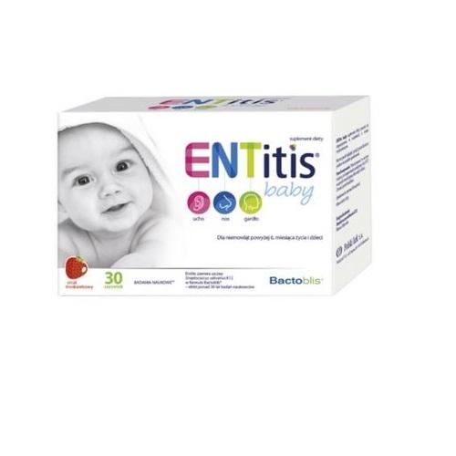 ENTitis Baby sm. truskaw. prosz.30 sasz. | Apteka internetowa, antyperspirant, avent, bioderma, bioliq, canpol, cera trądzikowa preparaty, dermokosmetyki, geriavit, grzybica leki bez recepty, himalaya, kreon, leki bez recepty, leki na grypę, leki na przeziębienie, leki na uspokojenie, mascara med., maxigra go, maxon, mensil, mugga, mustela, odchudzanie leki, odporność, pirolam, tabletki na ból gardła, test ciążowy, tran mollers, vichy, witamina d, wszy preparaty, zapalenie stawów, zestawy kosmetyków, ziaja