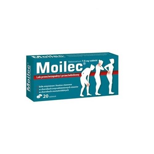 Moilec tabl. 7,5 mg 20 tabl. | Apteka internetowa, antyperspirant, avent, bioderma, bioliq, canpol, cera trądzikowa preparaty, dermokosmetyki, geriavit, grzybica leki bez recepty, himalaya, kreon, leki bez recepty, leki na grypę, leki na przeziębienie, leki na uspokojenie, mascara med., maxigra go, maxon, mensil, mugga, mustela, odchudzanie leki, odporność, pirolam, tabletki na ból gardła, test ciążowy, tran mollers, vichy, witamina d, wszy preparaty, zapalenie stawów, zestawy kosmetyków, ziaja