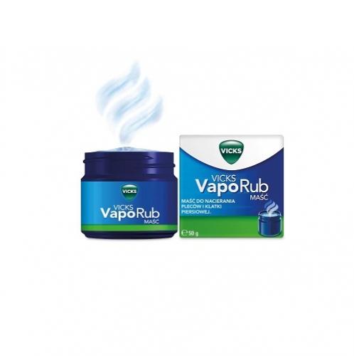 Vicks Vapo Rub maść 50 g | Apteka internetowa, antyperspirant, avent, bioderma, bioliq, canpol, cera trądzikowa preparaty, dermokosmetyki, geriavit, grzybica leki bez recepty, himalaya, kreon, leki bez recepty, leki na grypę, leki na przeziębienie, leki na uspokojenie, mascara med., maxigra go, maxon, mensil, mugga, mustela, odchudzanie leki, odporność, pirolam, tabletki na ból gardła, test ciążowy, tran mollers, vichy, witamina d, wszy preparaty, zapalenie stawów, zestawy kosmetyków, ziaja