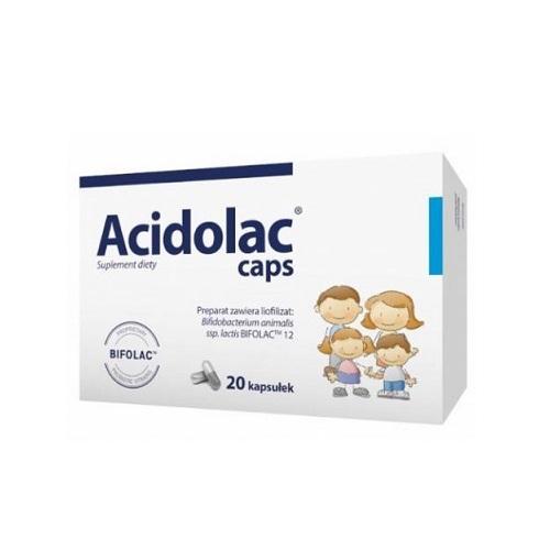 Acidolac caps kaps. 20 kaps. | Apteka internetowa, antyperspirant, avent, bioderma, bioliq, canpol, cera trądzikowa preparaty, dermokosmetyki, geriavit, grzybica leki bez recepty, himalaya, kreon, leki bez recepty, leki na grypę, leki na przeziębienie, leki na uspokojenie, mascara med., maxigra go, maxon, mensil, mugga, mustela, odchudzanie leki, odporność, pirolam, tabletki na ból gardła, test ciążowy, tran mollers, vichy, witamina d, wszy preparaty, zapalenie stawów, zestawy kosmetyków, ziaja