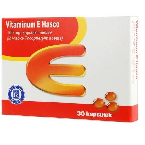 Witamina E Hasco kaps.miękkie 0,1g 30 kaps | Apteka internetowa, antyperspirant, avent, bioderma, bioliq, canpol, cera trądzikowa preparaty, dermokosmetyki, geriavit, grzybica leki bez recepty, himalaya, kreon, leki bez recepty, leki na grypę, leki na przeziębienie, leki na uspokojenie, mascara med., maxigra go, maxon, mensil, mugga, mustela, odchudzanie leki, odporność, pirolam, tabletki na ból gardła, test ciążowy, tran mollers, vichy, witamina d, wszy preparaty, zapalenie stawów, zestawy kosmetyków, ziaja