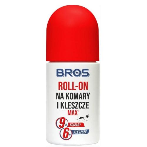 BROS MAX Roll-on 25%DEET na komary i kl.50 | Apteka internetowa, antyperspirant, avent, bioderma, bioliq, canpol, cera trądzikowa preparaty, dermokosmetyki, geriavit, grzybica leki bez recepty, himalaya, kreon, leki bez recepty, leki na grypę, leki na przeziębienie, leki na uspokojenie, mascara med., maxigra go, maxon, mensil, mugga, mustela, odchudzanie leki, odporność, pirolam, tabletki na ból gardła, test ciążowy, tran mollers, vichy, witamina d, wszy preparaty, zapalenie stawów, zestawy kosmetyków, ziaja