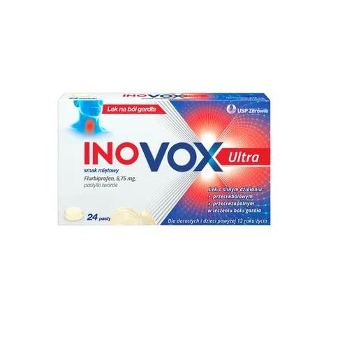 INOVOX Ultra smak miętowy 24 szt. | Apteka internetowa, antyperspirant, avent, bioderma, bioliq, canpol, cera trądzikowa preparaty, dermokosmetyki, geriavit, grzybica leki bez recepty, himalaya, kreon, leki bez recepty, leki na grypę, leki na przeziębienie, leki na uspokojenie, mascara med., maxigra go, maxon, mensil, mugga, mustela, odchudzanie leki, odporność, pirolam, tabletki na ból gardła, test ciążowy, tran mollers, vichy, witamina d, wszy preparaty, zapalenie stawów, zestawy kosmetyków, ziaja