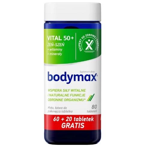 BODYMAX Vital 50+ 60+20 tabl. GRATIS tabl.   Apteka internetowa, antyperspirant, avent, bioderma, bioliq, canpol, cera trądzikowa preparaty, dermokosmetyki, geriavit, grzybica leki bez recepty, himalaya, kreon, leki bez recepty, leki na grypę, leki na przeziębienie, leki na uspokojenie, mascara med., maxigra go, maxon, mensil, mugga, mustela, odchudzanie leki, odporność, pirolam, tabletki na ból gardła, test ciążowy, tran mollers, vichy, witamina d, wszy preparaty, zapalenie stawów, zestawy kosmetyków, ziaja
