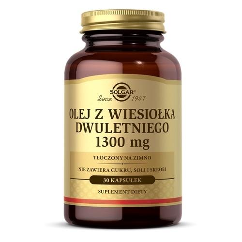 SOLGAR Olej z Wiesiołka Dwulet.1300mg 30ka | Apteka internetowa, antyperspirant, avent, bioderma, bioliq, canpol, cera trądzikowa preparaty, dermokosmetyki, geriavit, grzybica leki bez recepty, himalaya, kreon, leki bez recepty, leki na grypę, leki na przeziębienie, leki na uspokojenie, mascara med., maxigra go, maxon, mensil, mugga, mustela, odchudzanie leki, odporność, pirolam, tabletki na ból gardła, test ciążowy, tran mollers, vichy, witamina d, wszy preparaty, zapalenie stawów, zestawy kosmetyków, ziaja