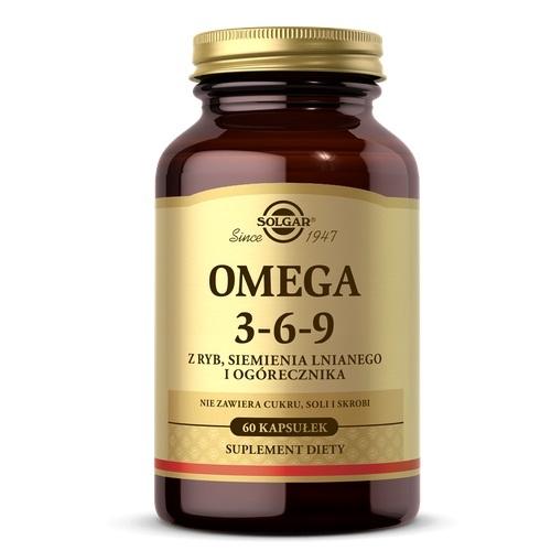 SOLGAR Omega 3-6-9 kaps. 60 kaps. | Apteka internetowa, antyperspirant, avent, bioderma, bioliq, canpol, cera trądzikowa preparaty, dermokosmetyki, geriavit, grzybica leki bez recepty, himalaya, kreon, leki bez recepty, leki na grypę, leki na przeziębienie, leki na uspokojenie, mascara med., maxigra go, maxon, mensil, mugga, mustela, odchudzanie leki, odporność, pirolam, tabletki na ból gardła, test ciążowy, tran mollers, vichy, witamina d, wszy preparaty, zapalenie stawów, zestawy kosmetyków, ziaja