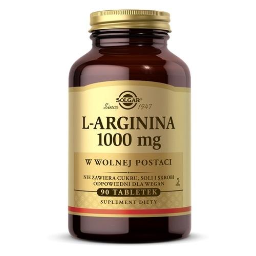 SOLGAR L-arginina 1000 mg  90 tabl. | Apteka internetowa, antyperspirant, avent, bioderma, bioliq, canpol, cera trądzikowa preparaty, dermokosmetyki, geriavit, grzybica leki bez recepty, himalaya, kreon, leki bez recepty, leki na grypę, leki na przeziębienie, leki na uspokojenie, mascara med., maxigra go, maxon, mensil, mugga, mustela, odchudzanie leki, odporność, pirolam, tabletki na ból gardła, test ciążowy, tran mollers, vichy, witamina d, wszy preparaty, zapalenie stawów, zestawy kosmetyków, ziaja