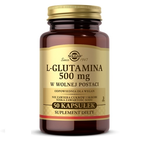 SOLGAR L-Glutamina wolna postać 50 kaps.   Apteka internetowa, antyperspirant, avent, bioderma, bioliq, canpol, cera trądzikowa preparaty, dermokosmetyki, geriavit, grzybica leki bez recepty, himalaya, kreon, leki bez recepty, leki na grypę, leki na przeziębienie, leki na uspokojenie, mascara med., maxigra go, maxon, mensil, mugga, mustela, odchudzanie leki, odporność, pirolam, tabletki na ból gardła, test ciążowy, tran mollers, vichy, witamina d, wszy preparaty, zapalenie stawów, zestawy kosmetyków, ziaja