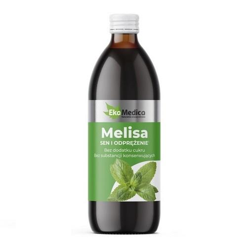 Ekamedica Melisa płyn 500 ml | Apteka internetowa, antyperspirant, avent, bioderma, bioliq, canpol, cera trądzikowa preparaty, dermokosmetyki, geriavit, grzybica leki bez recepty, himalaya, kreon, leki bez recepty, leki na grypę, leki na przeziębienie, leki na uspokojenie, mascara med., maxigra go, maxon, mensil, mugga, mustela, odchudzanie leki, odporność, pirolam, tabletki na ból gardła, test ciążowy, tran mollers, vichy, witamina d, wszy preparaty, zapalenie stawów, zestawy kosmetyków, ziaja