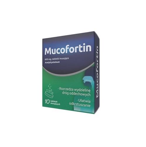 Mucofortin (Acetylcysteinum 600mg)10tab.mu | Apteka internetowa, antyperspirant, avent, bioderma, bioliq, canpol, cera trądzikowa preparaty, dermokosmetyki, geriavit, grzybica leki bez recepty, himalaya, kreon, leki bez recepty, leki na grypę, leki na przeziębienie, leki na uspokojenie, mascara med., maxigra go, maxon, mensil, mugga, mustela, odchudzanie leki, odporność, pirolam, tabletki na ból gardła, test ciążowy, tran mollers, vichy, witamina d, wszy preparaty, zapalenie stawów, zestawy kosmetyków, ziaja