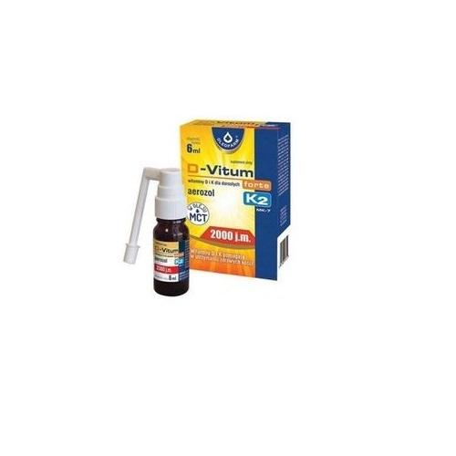 D-Vitum forte 2000 j.m. K2 aer. 6 ml | Apteka internetowa, antyperspirant, avent, bioderma, bioliq, canpol, cera trądzikowa preparaty, dermokosmetyki, geriavit, grzybica leki bez recepty, himalaya, kreon, leki bez recepty, leki na grypę, leki na przeziębienie, leki na uspokojenie, mascara med., maxigra go, maxon, mensil, mugga, mustela, odchudzanie leki, odporność, pirolam, tabletki na ból gardła, test ciążowy, tran mollers, vichy, witamina d, wszy preparaty, zapalenie stawów, zestawy kosmetyków, ziaja