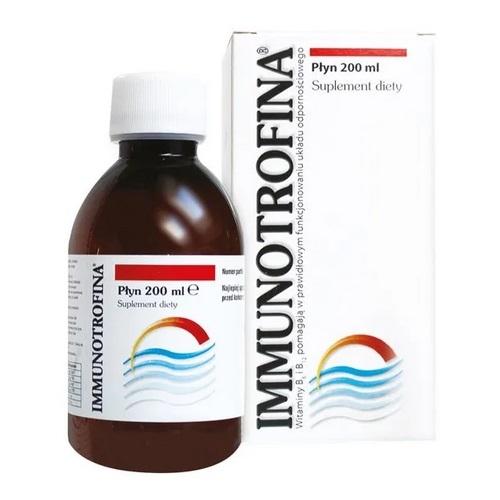 Immunotrofina płyn 200 ml | Apteka internetowa, antyperspirant, avent, bioderma, bioliq, canpol, cera trądzikowa preparaty, dermokosmetyki, geriavit, grzybica leki bez recepty, himalaya, kreon, leki bez recepty, leki na grypę, leki na przeziębienie, leki na uspokojenie, mascara med., maxigra go, maxon, mensil, mugga, mustela, odchudzanie leki, odporność, pirolam, tabletki na ból gardła, test ciążowy, tran mollers, vichy, witamina d, wszy preparaty, zapalenie stawów, zestawy kosmetyków, ziaja