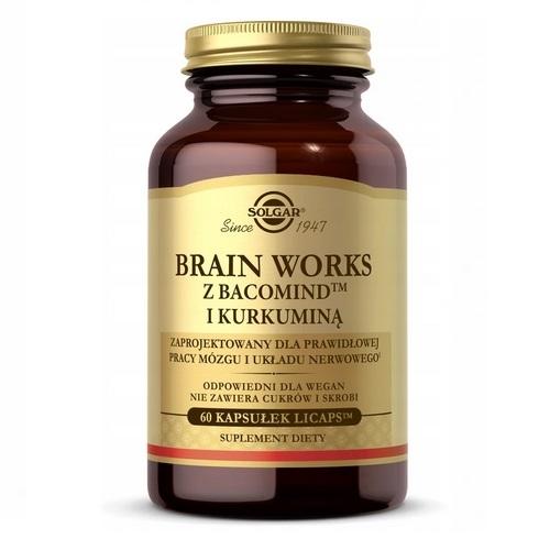 SOLGAR Brain Works kaps. 60 kaps. | Apteka internetowa, antyperspirant, avent, bioderma, bioliq, canpol, cera trądzikowa preparaty, dermokosmetyki, geriavit, grzybica leki bez recepty, himalaya, kreon, leki bez recepty, leki na grypę, leki na przeziębienie, leki na uspokojenie, mascara med., maxigra go, maxon, mensil, mugga, mustela, odchudzanie leki, odporność, pirolam, tabletki na ból gardła, test ciążowy, tran mollers, vichy, witamina d, wszy preparaty, zapalenie stawów, zestawy kosmetyków, ziaja
