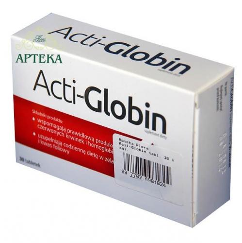 Acti-Globin tabl. 30 tabl.