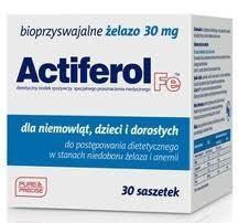 Actiferol Fe 30 mg 30 kaps.