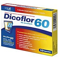 Dicoflor 60 kaps. 10 kaps.