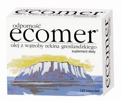 Ecomer odporność 0,25g 120 kaps.