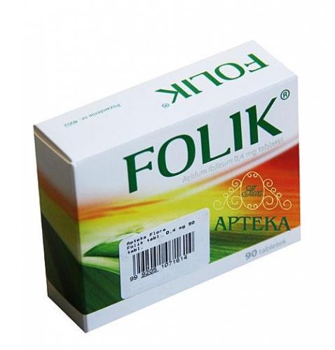 Folik tabl. 0,4 mg 90 tabl.