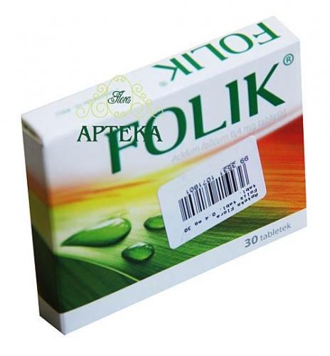 Folik tabl. 0.4 mg 30 tabl.