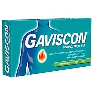 Gaviscon miętowy 16 tabl.
