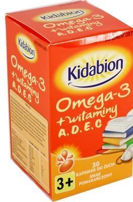 Kidabion o sm.pomar. 30 kaps.d/żucia