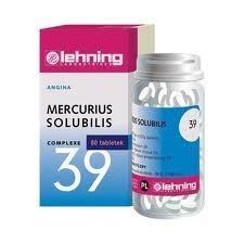 LEHNING Mercurius solubilis Com.Nr39 80tab