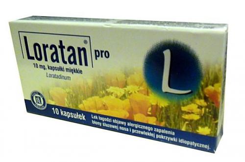 Loratan pro kaps.miękkie 0,01 g 10 kaps.