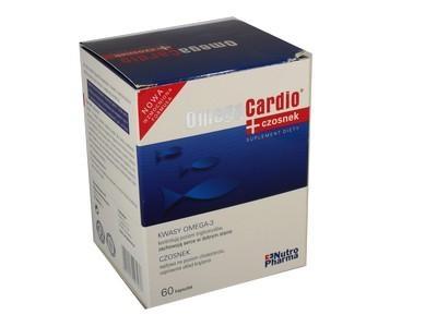 OmegaCardio+czosnek kaps. 60 kaps.