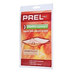 PREL RED Plaster rozgrzewający 3 szt.