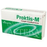 Proktis-M czop.doodbyt. 10 czop.
