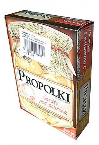 Propolki propolisowo cytr.16 past.do ssan.