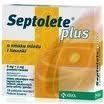 Septolete Plus o sm.miodu i limonki 18pas.