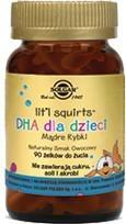 SOLGAR DHA dla dzieci (rybki) żelki 90kaps