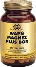 SOLGAR Wapń Magnez + Bor tabl. 100 tabl.