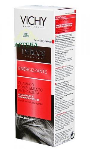 VICHY DERCOS Szampon wzmacniający 200 ml
