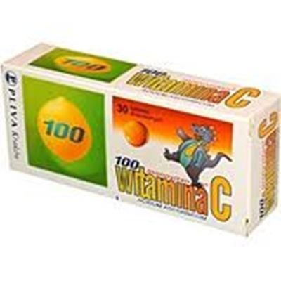 Witamina C 100mg monovitan 0,1g 50 tabl.
