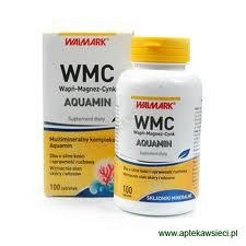 WMC Wapń-Magnez-Cynk AQUAMIN tabl. 100tabl