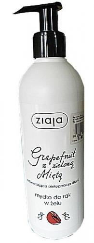 ZIAJA GRAPEFRUIT Z MIĘTĄ Mydło d/rąk 270ml
