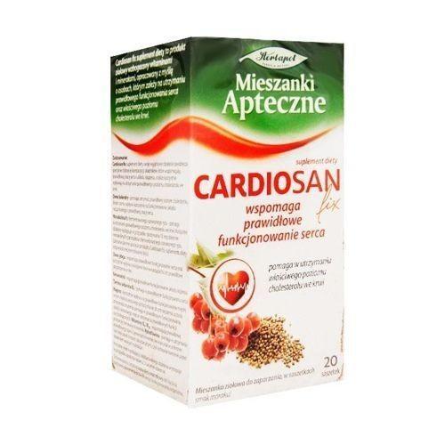 Zioła fix Cardiosan saszetki 1 g 20 sasz.
